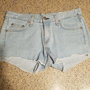 Rag & Bone SZ 24 distressed jean shorts